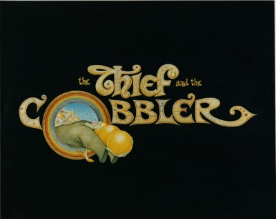 The THief and the Cobbler - illustrated title still